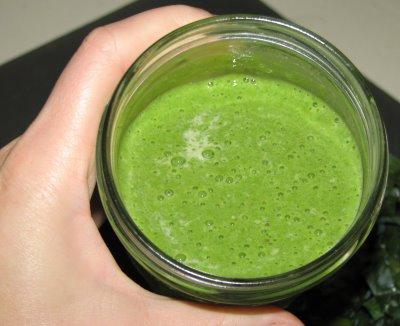 Yummy green goodness!